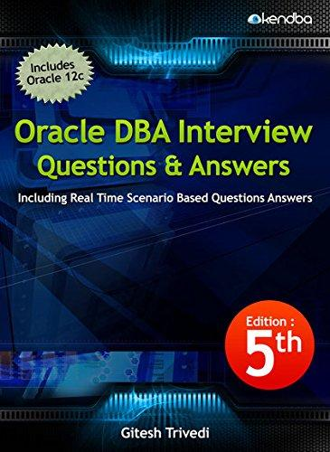 Oracle DBA, interview